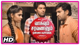 VSOP Tamil Movie | Scenes | Bhanu leaves Santhanam | Santhanam quits his friendship with Arya