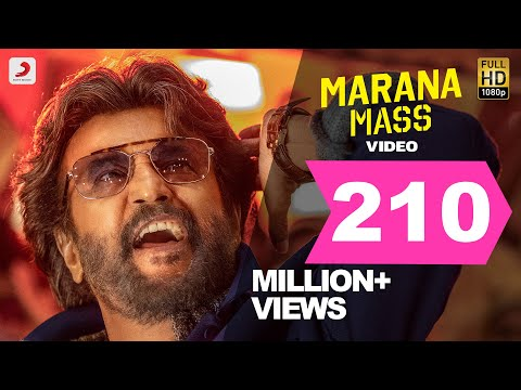 Petta Marana Mass Official Video Tamil  Rajinikanth  Anirudh Ravichander