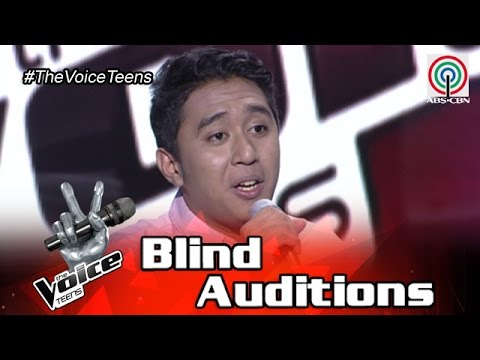 The Voice Teens Philippines Blind Audition: Brandon Ungab - Back At One