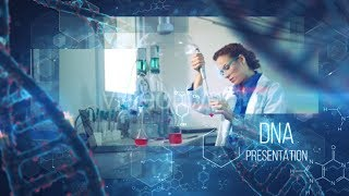 After Effects Template 2018 - Medical DNA Presentation Hi-Tech Template By After Effects cc 2018