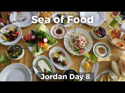 Sea of Food at the Dead Sea