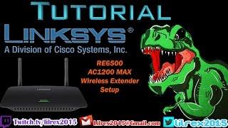 Linksys RE6500 AC1200 MAX Wireless Extender Setup Tutorial