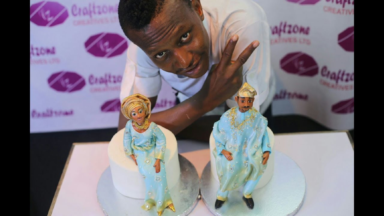 Cake Toppers African Bride And Groom Lesson 1