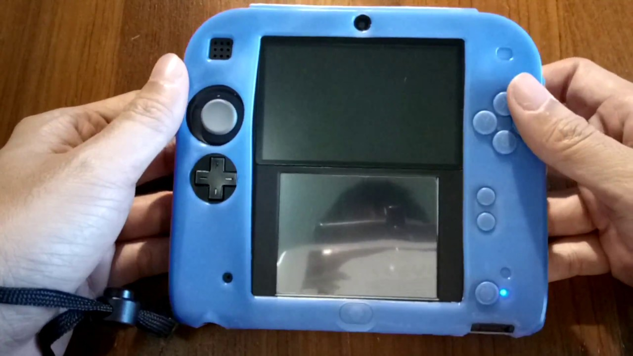 huge selection of fdcec 13162 Nintendo 2DS Silicone Case w/ Adjustable Hand Wrist by PunFun