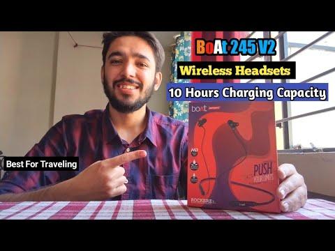 Boat Rockerz 245 V2 Wireless Headsets | Best Wireless Headsets Under 1200 | Best Traveling Headsets
