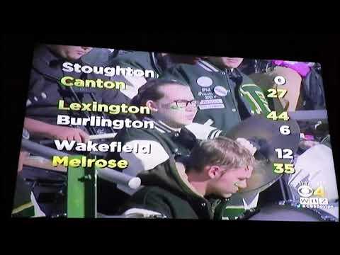 Thankgiving Massachusetts High School Football Scores |WBZ-TV Boston|
