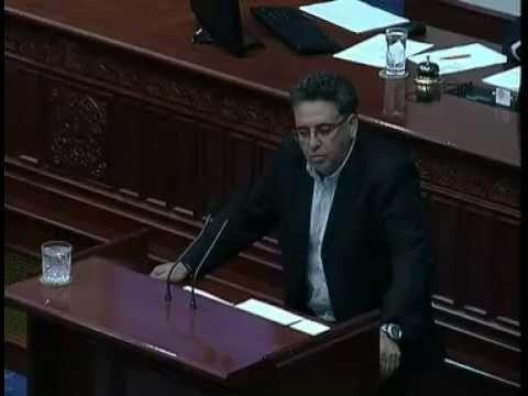 Андонов: Со овој закон сакате да злоупотребите 150 милио...