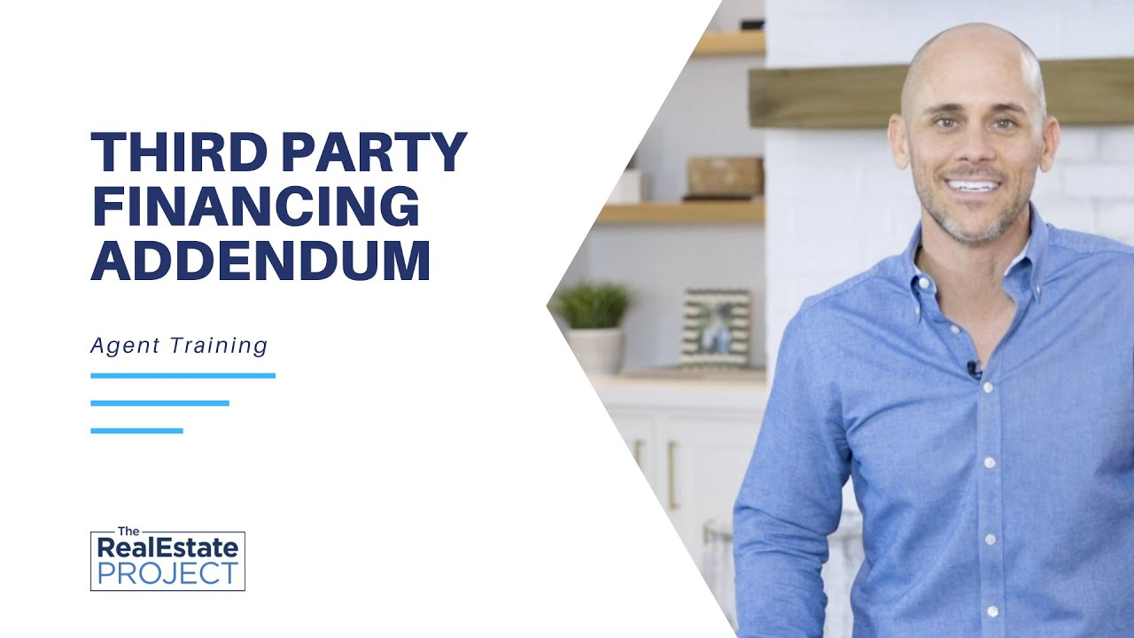 How to Fill out Third Party Financing Addendum