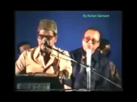 Pancham & Manna Dey Live On Stage