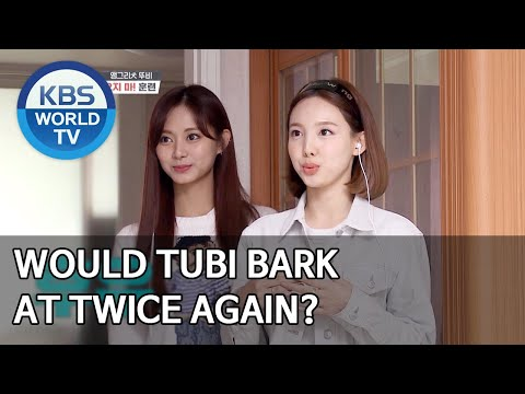 Would Tubi bark at TWICE again? [Dogs are incredible/ENG/2020.06.24]