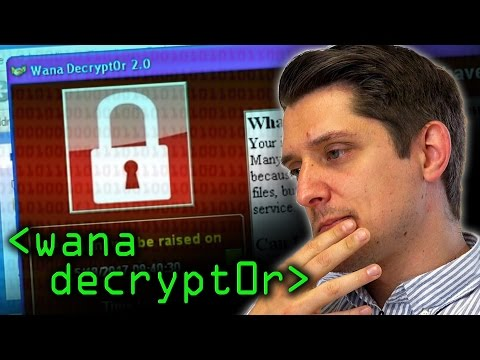 Wana Decrypt0r (Wanacry Ransomware) - Computerphile