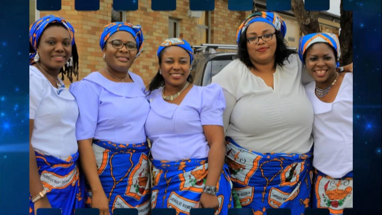 Nigerian Igbo Catholic Community - Mothers' Day 2017 mts
