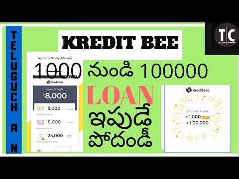 KREDIT BEE present a Emi service 1000 to 100000lakh| 100%Genuine app link in description