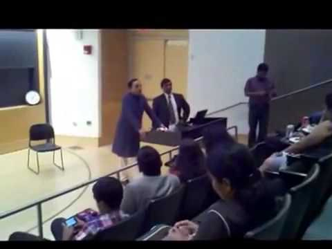 Lecture at Princeton University by Dr Subramanian Swamy