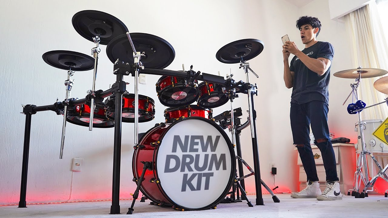 Download THE NEW DRUM KIT IS FINALLY HERE!