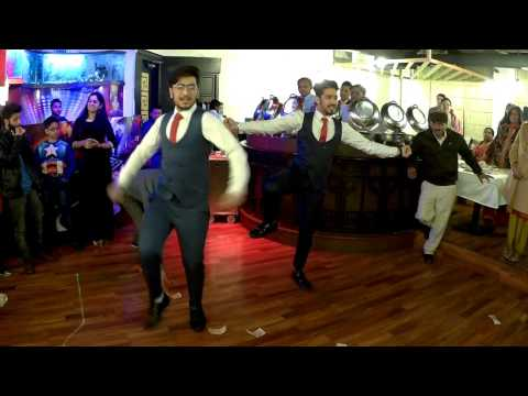 Same Time Same Jagah (Chaar Din) || Sandeep Brar || Bhangra dance duet ||25th wedding anniversary