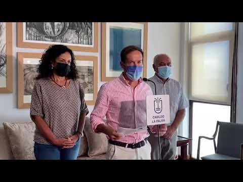 El presidente del Cabildo informa de tras reunirse con el Comité Científico debido a actividad sísmica en la Isla de La Palma.