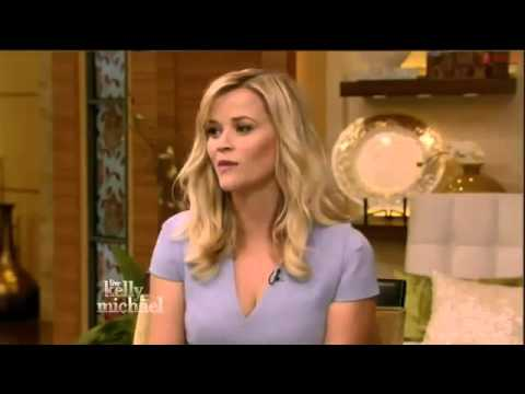 Reese Witherspoon Interview   Live with Kelly and Michael