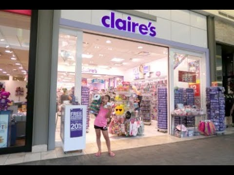 BRAND NEW SQUISHIES AT CLAIRE'S!! | SHOPPING AT CLAIRE'S VLOG