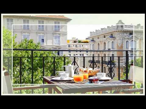 La malmaison nice boutique hotel nice france youtube for Best boutique hotels in la