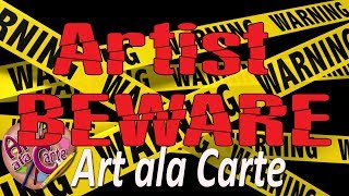 Artist BEWARE! Art supply fail