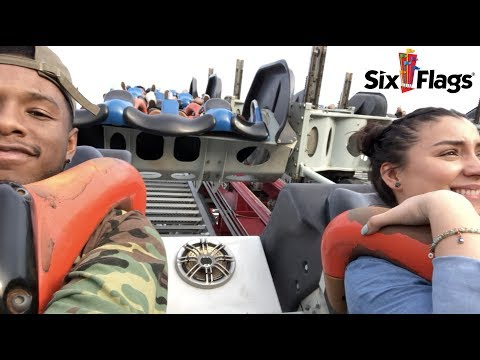 A Day at  Six Flags Magic Mountain | VLOG