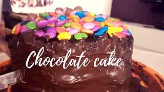 Homemade Chocolate Gems Cake Recipe | Bachelors Cuisine | Telugu captions available