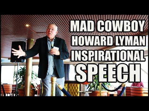 COWSPIRACY'S Howard Lyman Mad Cowboy (INSPIRATIONAL SPEECH) Sued on Oprah