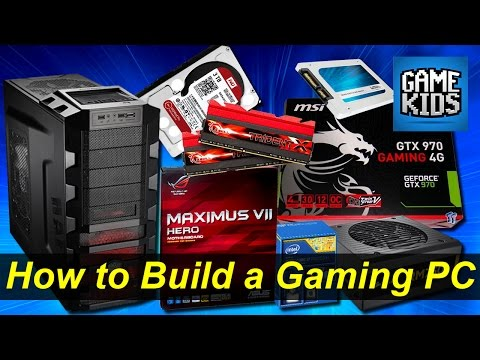 How to Build a Gaming Computer - Kids Build