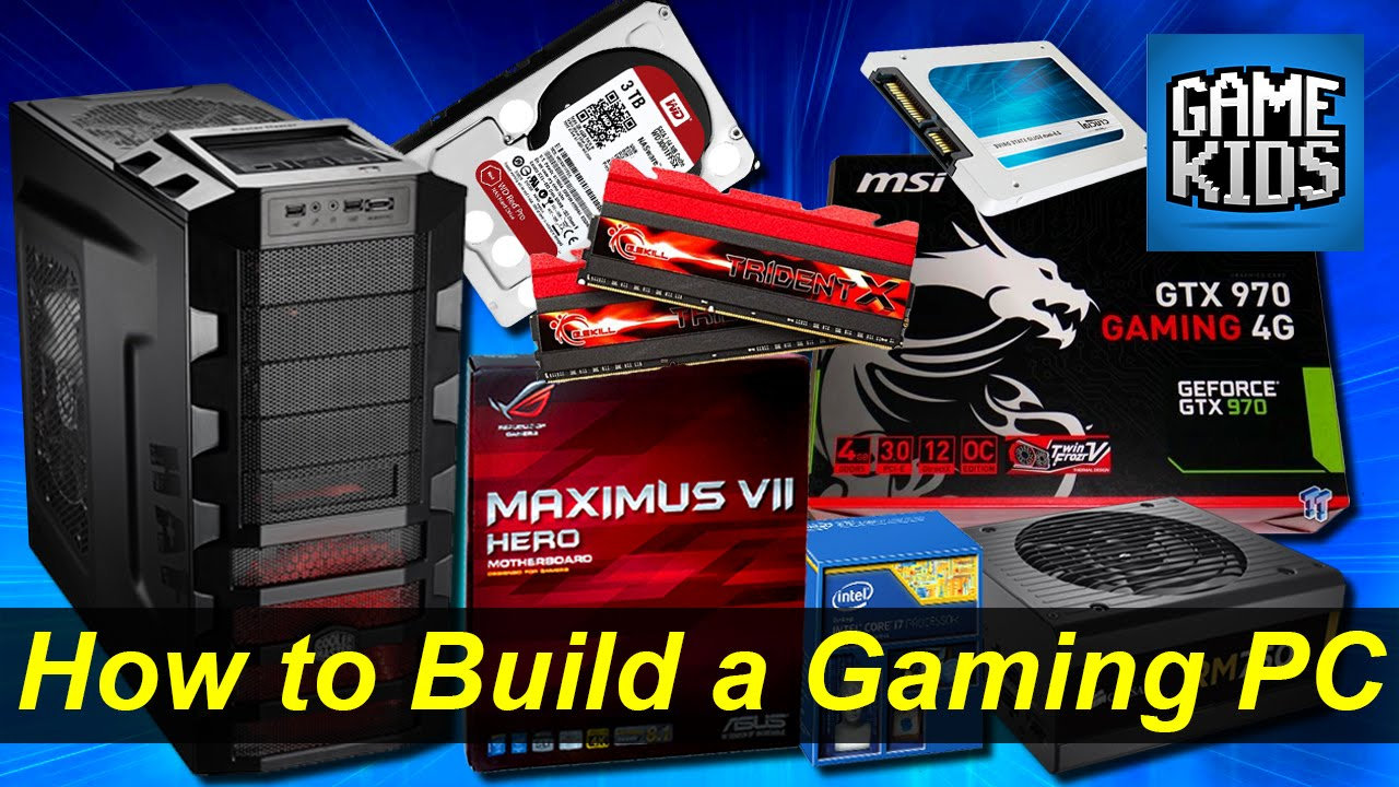 how to build own gaming computer