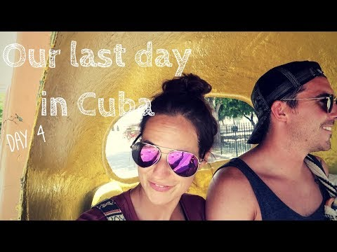 Cuba Travel Vlog - Day 4 // NO WIFI, Bathroom Etiquette, and Final Thoughts!