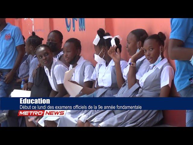 Education / Début ce lundi des examens officiels de la 9e année fondamentale.