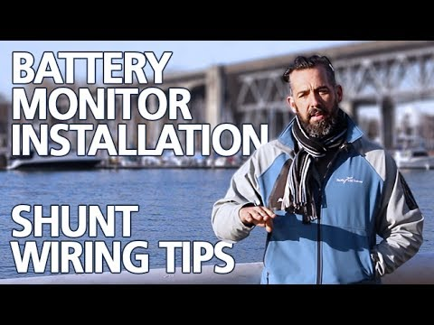 Power Time with Jeff Cote - Battery Monitor Installation, Shunt Wiring on