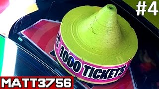 Tower of Tickets Arcade Game Challenge: Who Will Win the Jackpot FIRST?! | Arcade Nerd | Matt3756