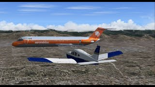 FS2004 - Collision over LA (1986 Cerritos Mid-Air Collision)
