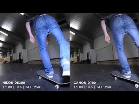 NIKON D5300 VS CANON 700D/60D