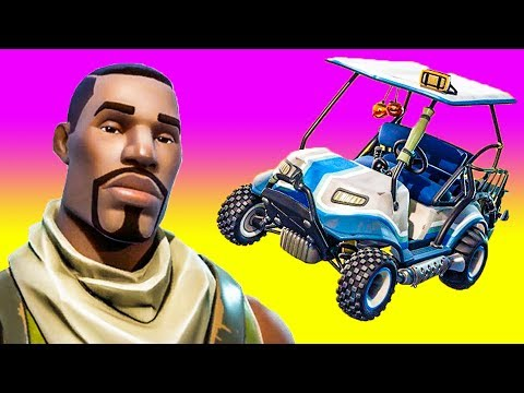 Trolling a Noob with a Golf Cart! (with Nick Eh 30 & Sancho West)