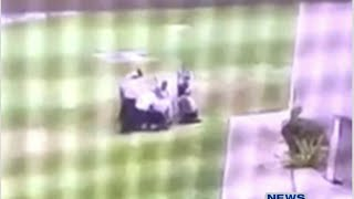 Correctional officers beat inmate on video