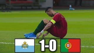 PES 2020 - San Marino beats Portugal   San Marino 1-0 Portugal