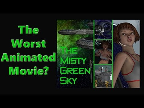 The Misty Green Sky - The worst animated film I have seen
