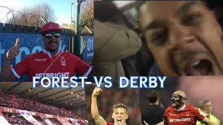NOTTINGHAM FOREST 1 - 0 DERBY COUNTY | FOREST BEAT DERBY