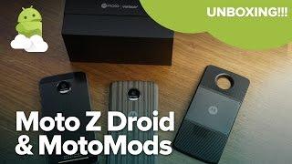 Moto Z Droid unboxing