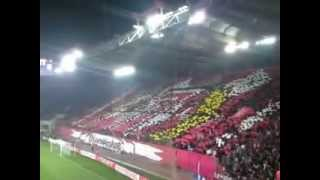 Olympiakos-Rubin Kazan:1-0 , Europa League Knock Out Stage , Coreo Gate 7