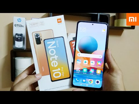 Redmi Note 10 Pro Max | Indian Retail Unit 6+128 GB Unboxing and First impression