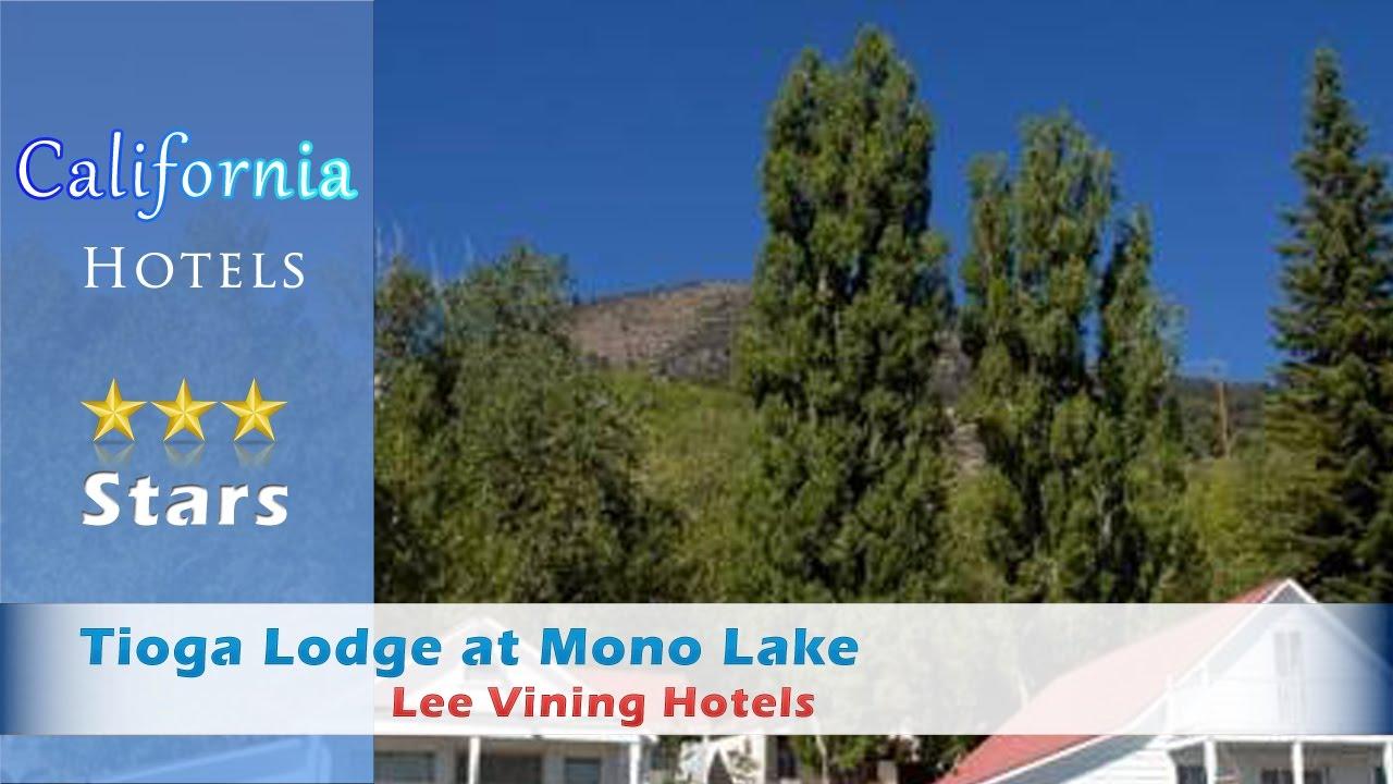 Tioga Lodge At Mono Lake Lee Vining Hotels California