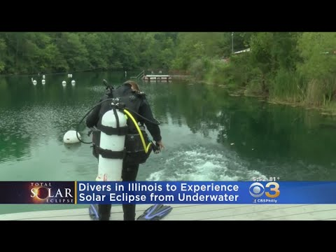 Divers In Illinois To Experience Solar Eclipse From Underwater