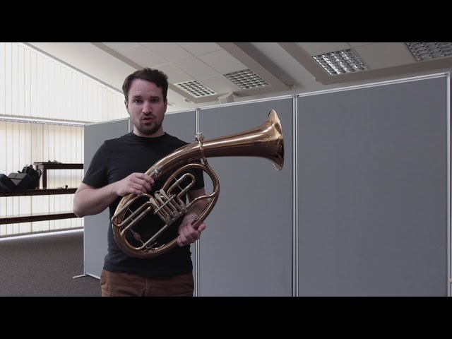 Vorstellung der Bläserklasse - Das Tenorhorn