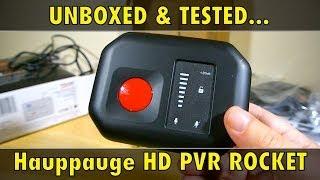 Hauppauge HD PVR ROCKET - UNBOXING & TEST - Review