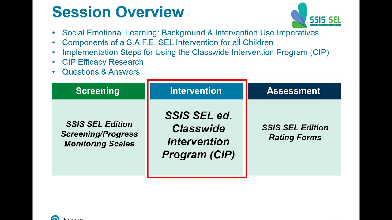 When Adding Sel To Curriculum >> Use Of The New Ssis Social Emotional Learning Edition Classwide Intervention Program