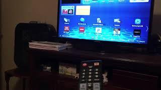 Netflix on Samsung smart hub not working black screen HTML